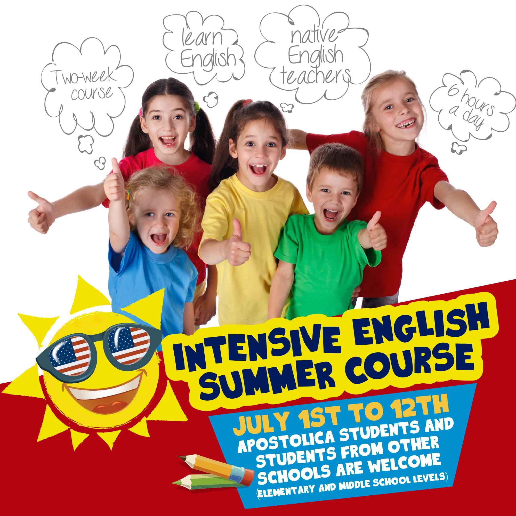 Summer English course