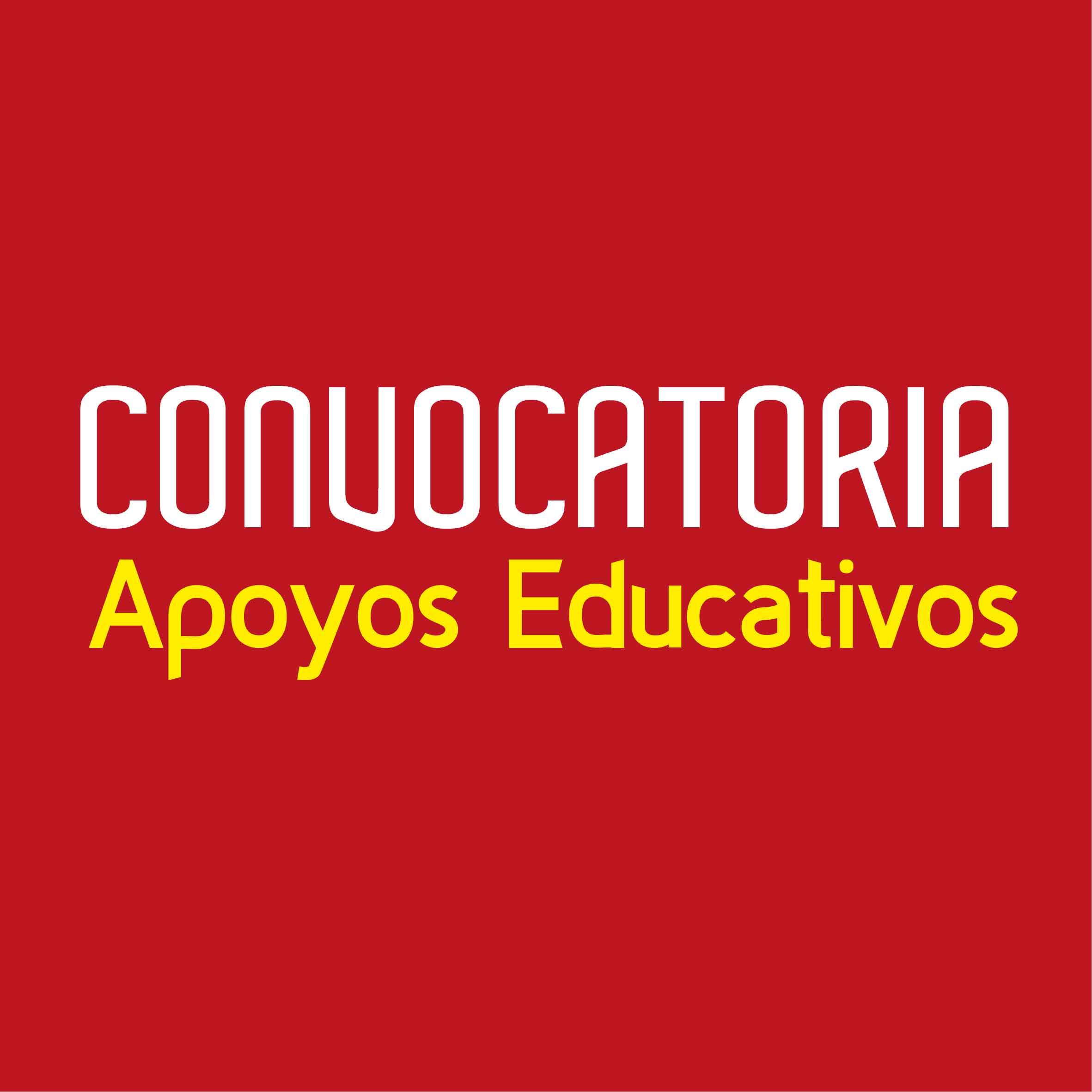 Convocatoria Apoyos Educativos 2020-2021