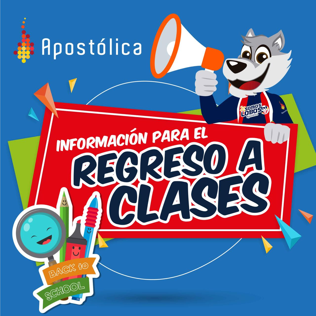 Información para el regreso a clases