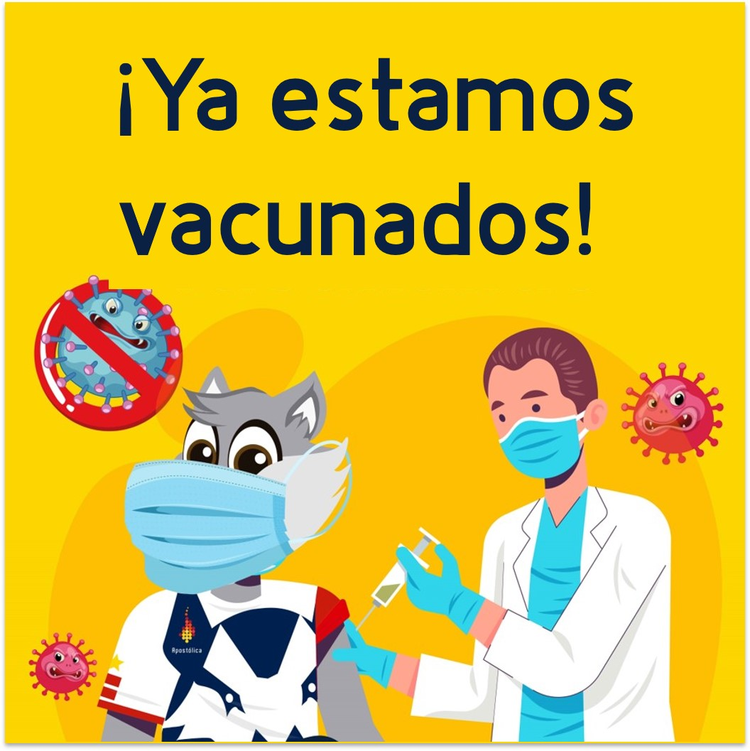 ¡Ya estamos vacunados!