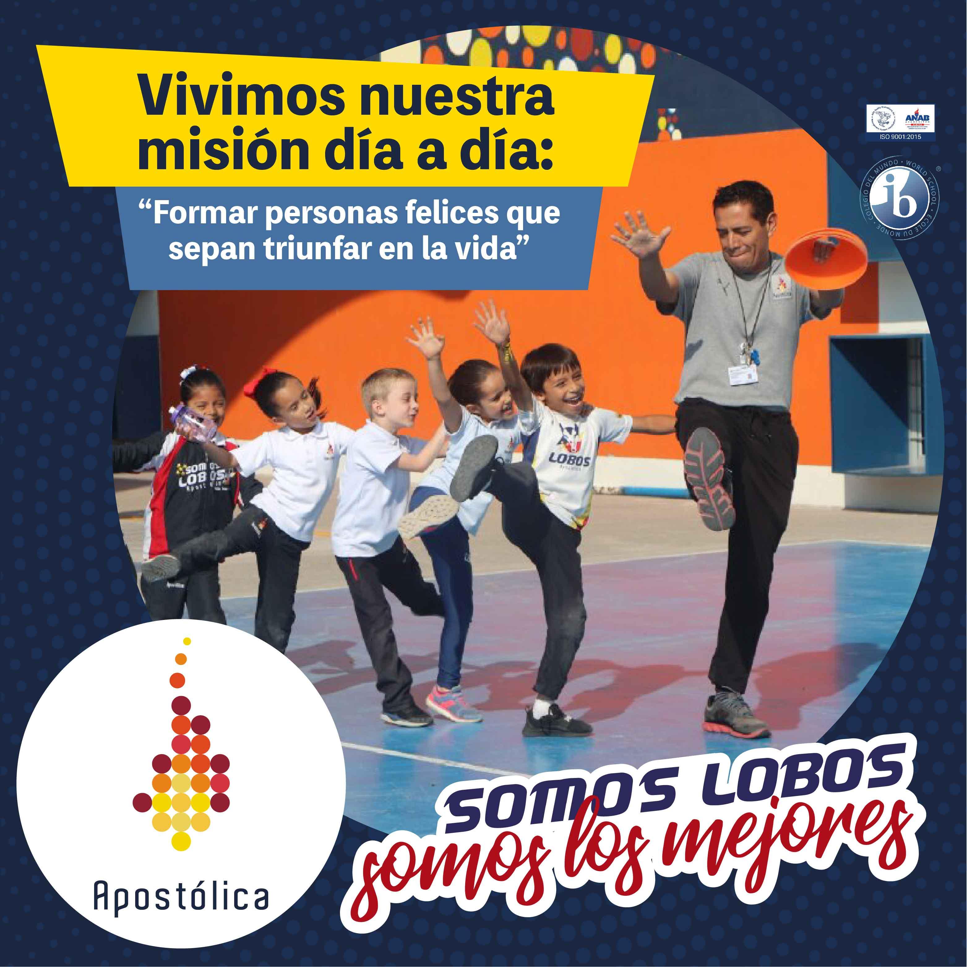 Misión Apostólica: formamos personas felices que sepan triunfar en la vida